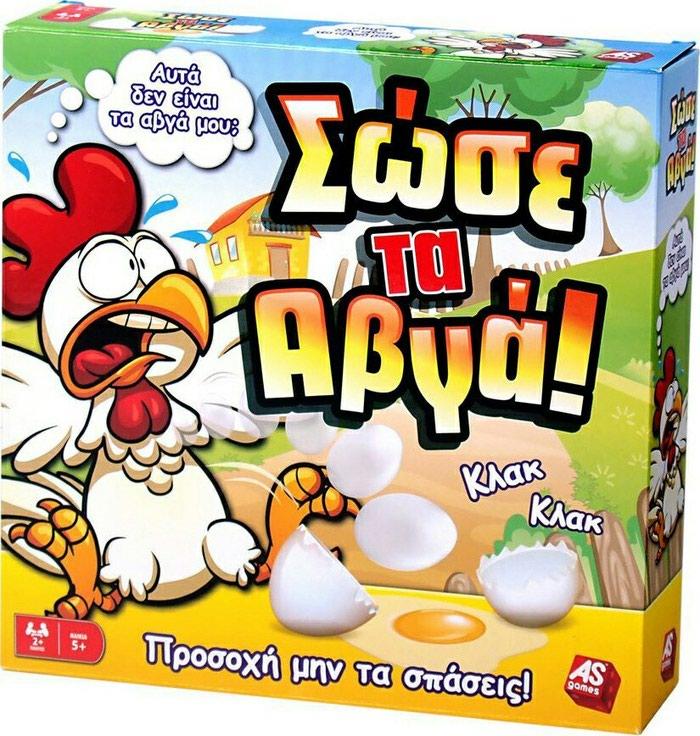 Επιτραπέζιο Σώσε τα Αβγά! in Βόλος  Άλλα on lalafo.gr 19938608811