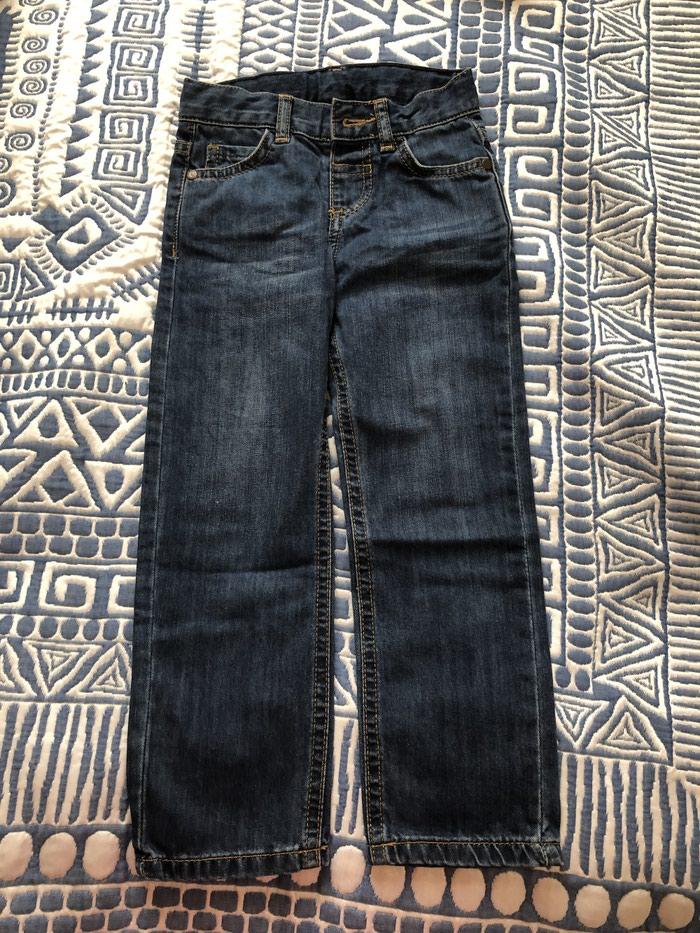 Новые джинсы на мальчика 4-5 лет. Photo 2
