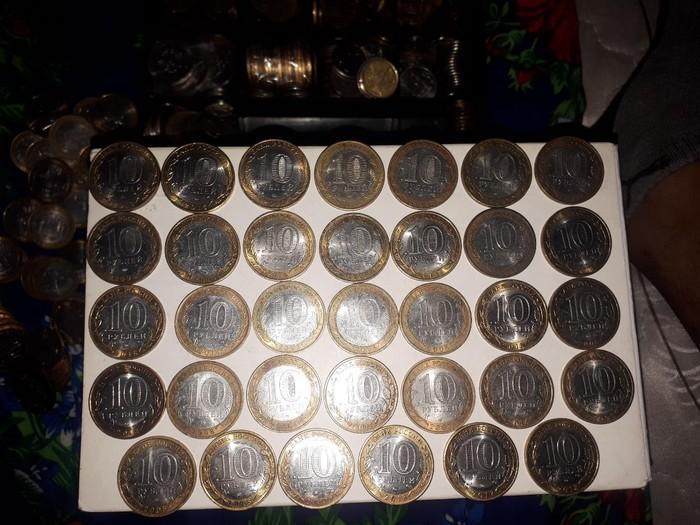 Юбилейный монеты 10 рублей, 34ш все разный,5 под. Photo 0