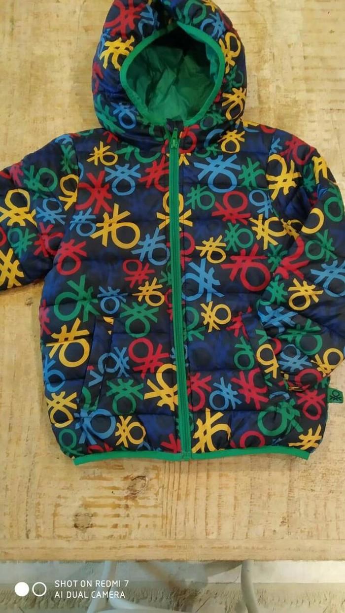 Benetton μπουφαν για παιδακι 4-6 ετων αριστη κατασταση. Photo 0