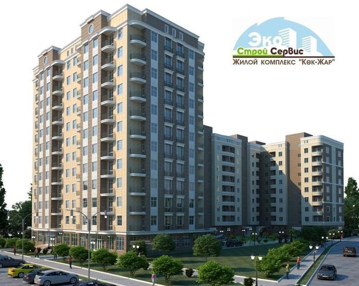 Продается квартира: 1 комната, 56 кв. м., Бишкек. Photo 2