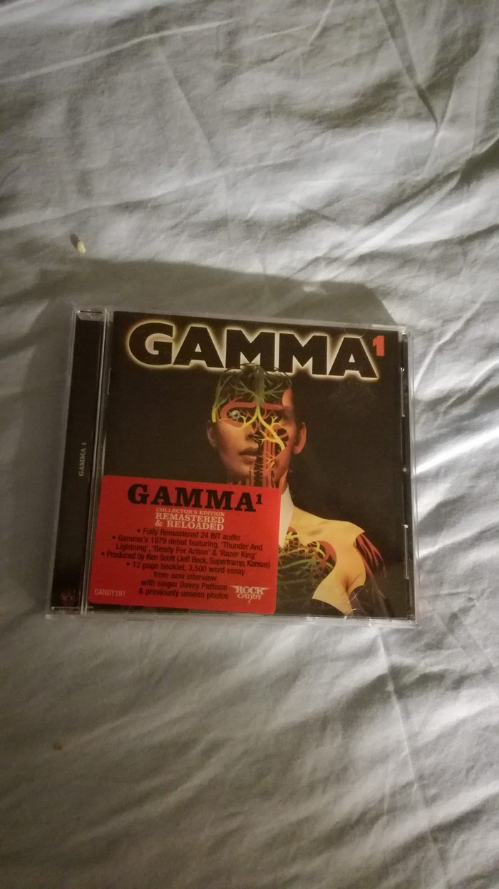 Gamma 1 Remastered Rock Candy CD. Photo 0