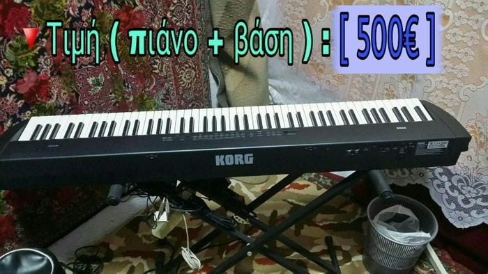 Πιάνο stage KORG SP-200, μέ 88 βαρυκεντρισμένα πλήκτρα