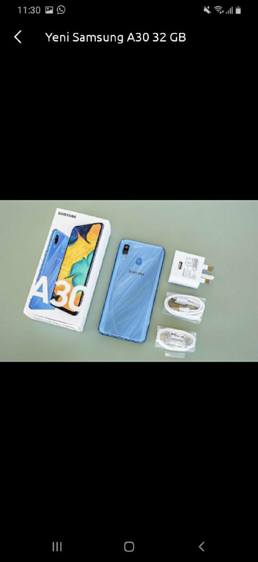 Yeni Samsung A30s 128 GB