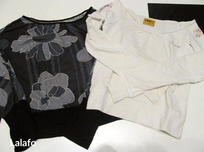 Dve majice za 1000 din. Bela legend, velicina s, siva sa mis rukavima, - Gornji Milanovac