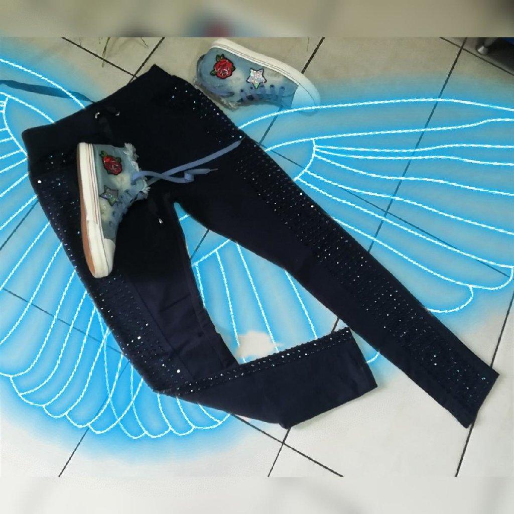 Extra farmerice model kao helanke extra mekan udoban prijatan teksas sa elastinom Vel S M