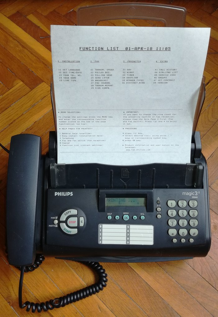 telefon faks philips magic 3 ispravan i danas testiran. Black Bedroom Furniture Sets. Home Design Ideas