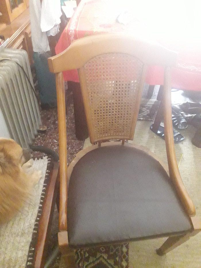 Καρέκλα σε καινουργη,κατάσταση με ψάθα του 1960 τηλ.1. Photo 0