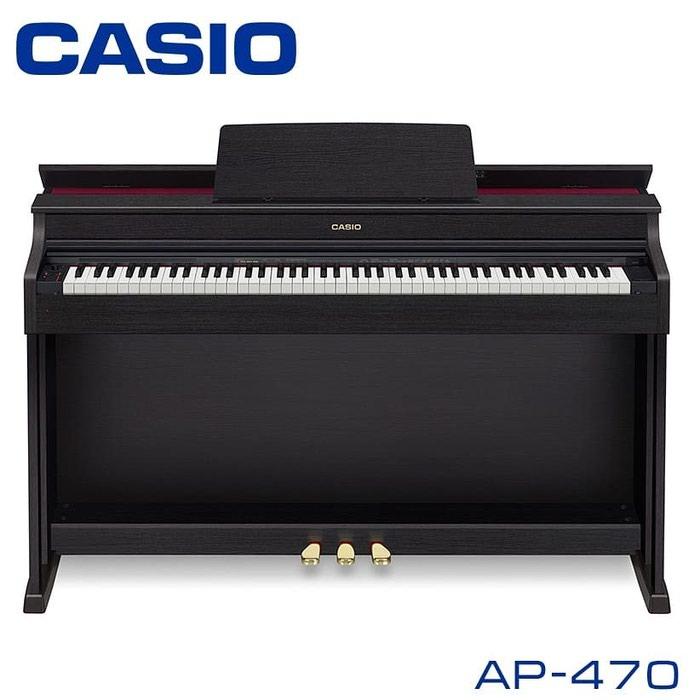 Пианино цифровое: CASIO CELVIANO AP-470BK - это цифровое пианино с полноразмерной клавиатурой (88 клавиш), аутентичным звучанием и классическим дизайном