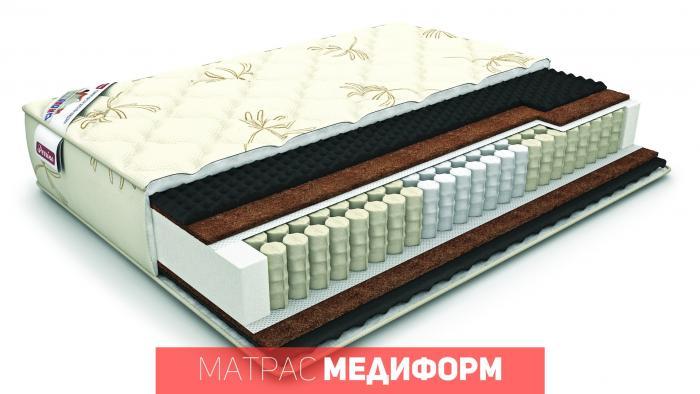 Ортопедический матрас «медиформ»  размер 160*200см