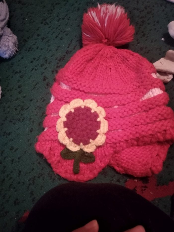 Продам детские шапки для девочек по 100 сом. Photo 4