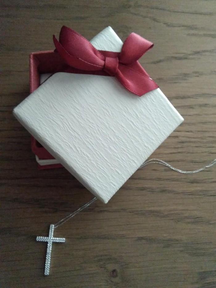 Γυναικείος Σταυρός 14 καράτια. Photo 0