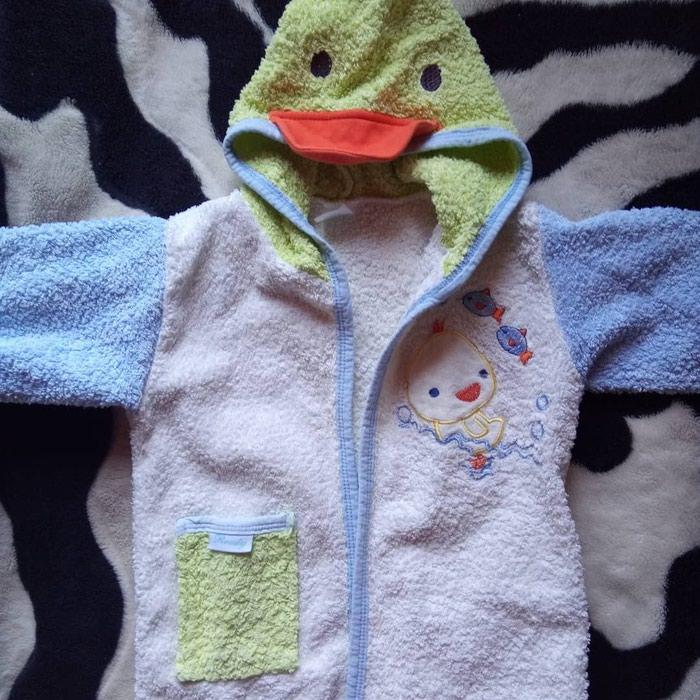 Bade mantil za decu. 1-2 godine.. Photo 0