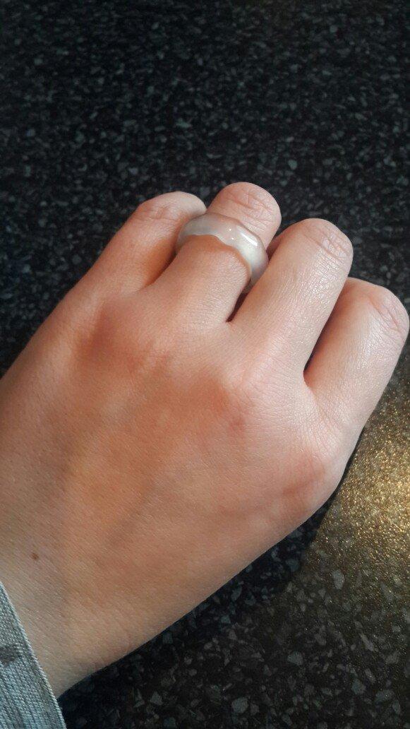 Xırdalan şəhərində кольцо uzuk murano стекло)оттенок серовато салатовое практически прозр