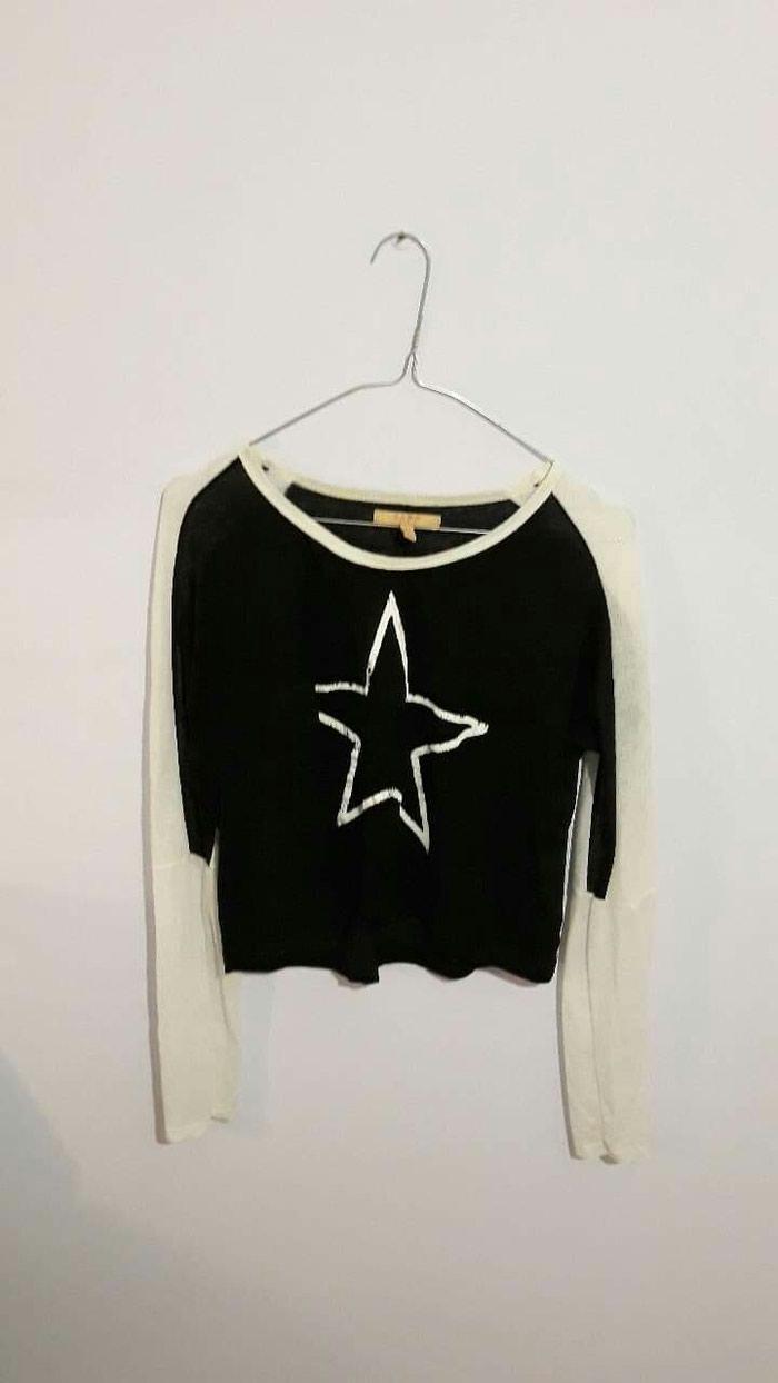 Μαύρη λεπτή/διαφανή μπλούζα απο Ζαρα σε Αχαρνές