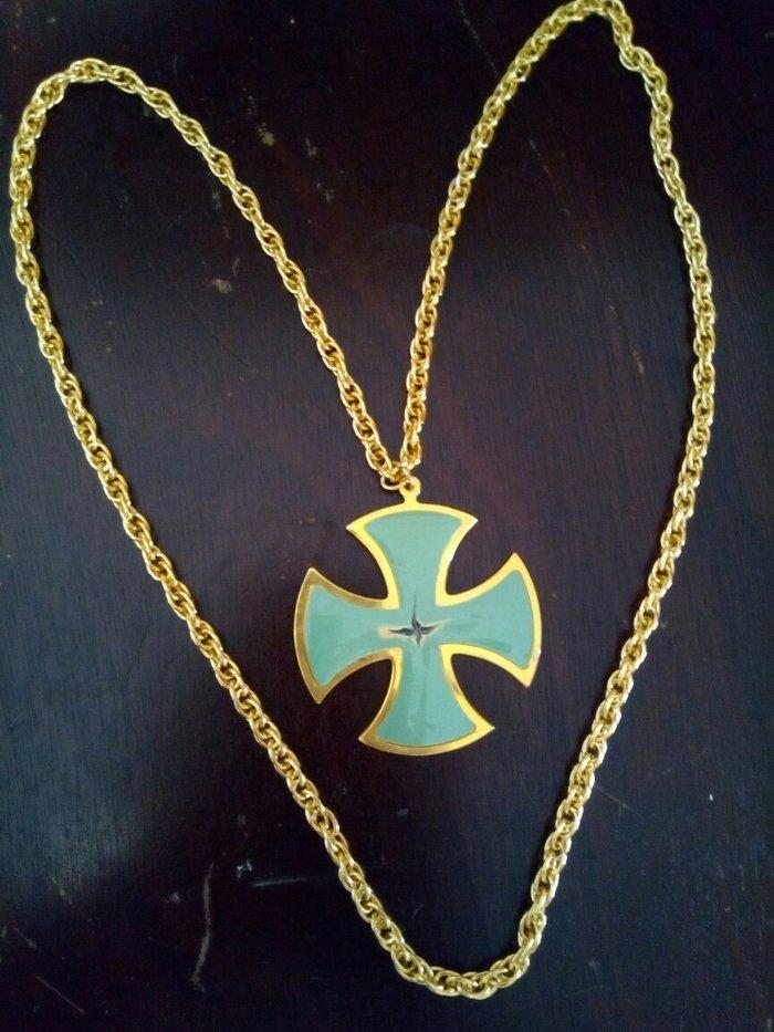 Περιδεραιο σταυρος με αλυσιδα αναλλοιωτο στο χρονο.. Photo 0