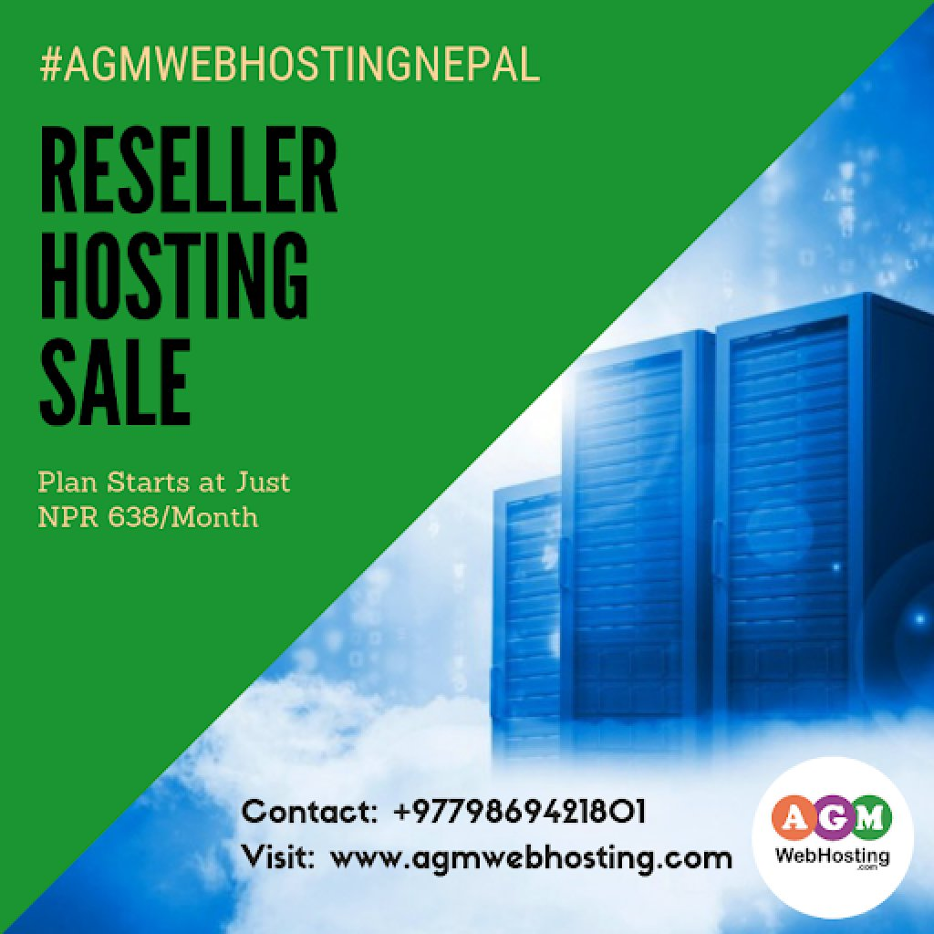 Linux Reseller Web Hosting in Nepal – AGM Web Hosting