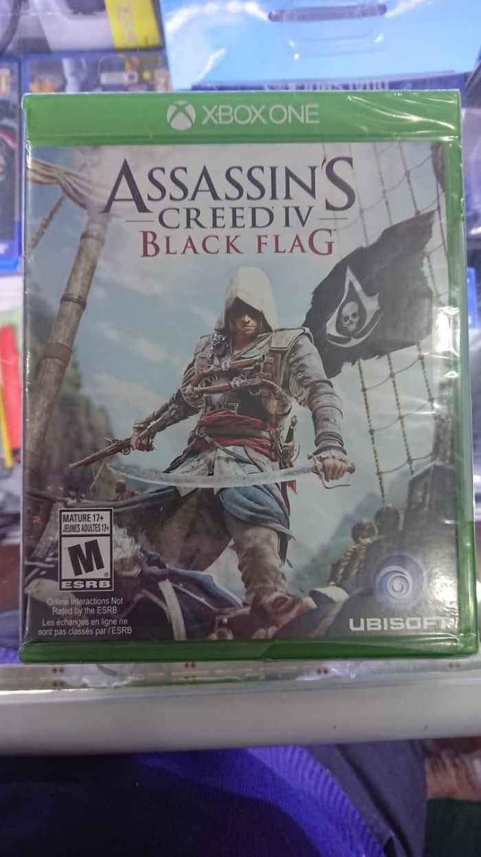 Xbox one üçün Asassins Creed black Flag oyunu. Photo 0