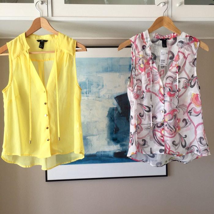 2 ολοκαίνουργιες αμάνικες πουκαμίσες. Photo 0