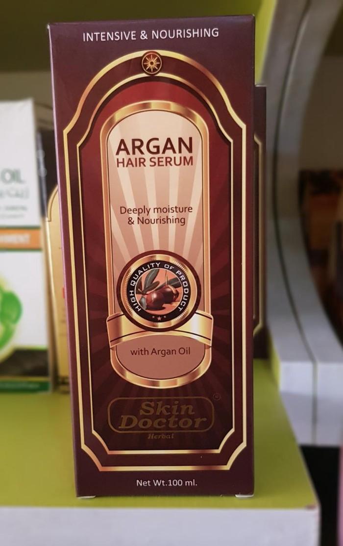 Органовое масло для волос