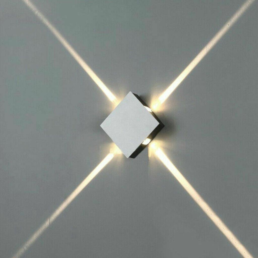 Dekorativna  Zidna Led Lampa , 4 x 3 W  boja svetla 3000 K