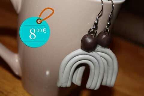 Χειροποίητα σκουλαρίκια! 8.00€. Photo 0