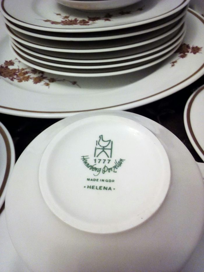 Чайный сервиз гдр, helena 6 персон 250 манат. Photo 5