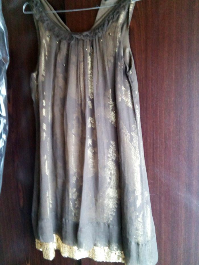 Raxevsky καφέ χρυσό φόρεμα no small. Photo 1
