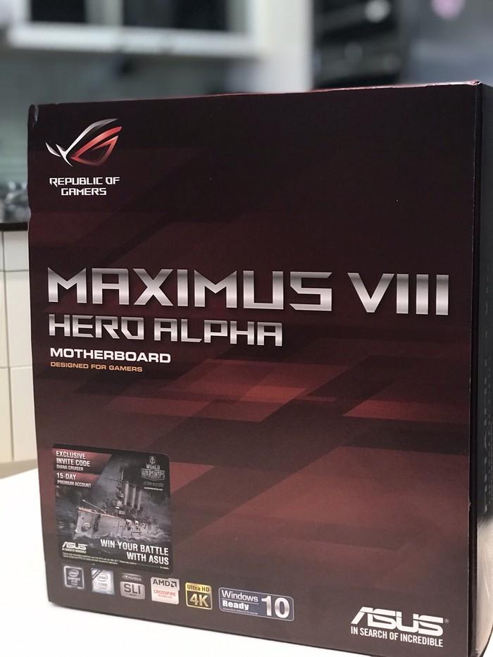ASUS MAXIMUS VIII HERO ALPHA
