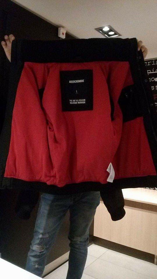 Abercrombie and fitch χειμωνιατικο μπουφαν σε αριστη κατασταση Large . Photo 0