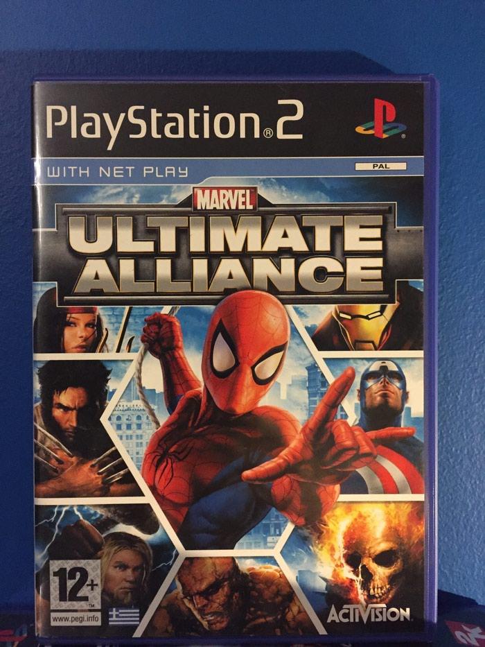 Marvel Ultimate Alliance Playstation 2 σε άριστη κατάσταση!!! σε Αθήνα