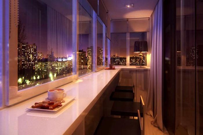 Обшивка балкона панелями – Это недорого!. Photo 0