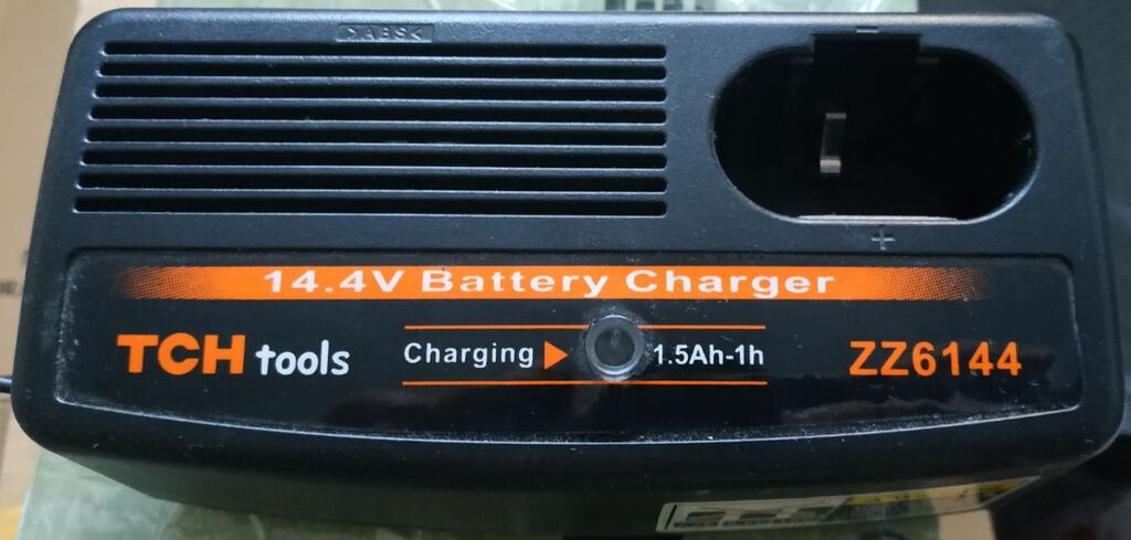 Зарядное для шуруповерта 14.4v