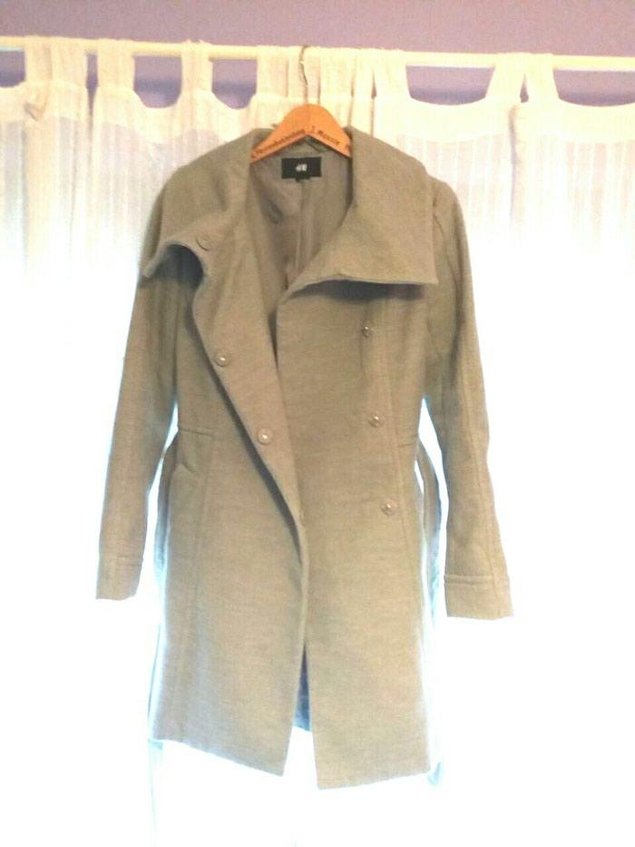 Παλτό hm γκρι σε άριστη κατάσταση εντελώς αφόρετο νούμερο small. Photo 0