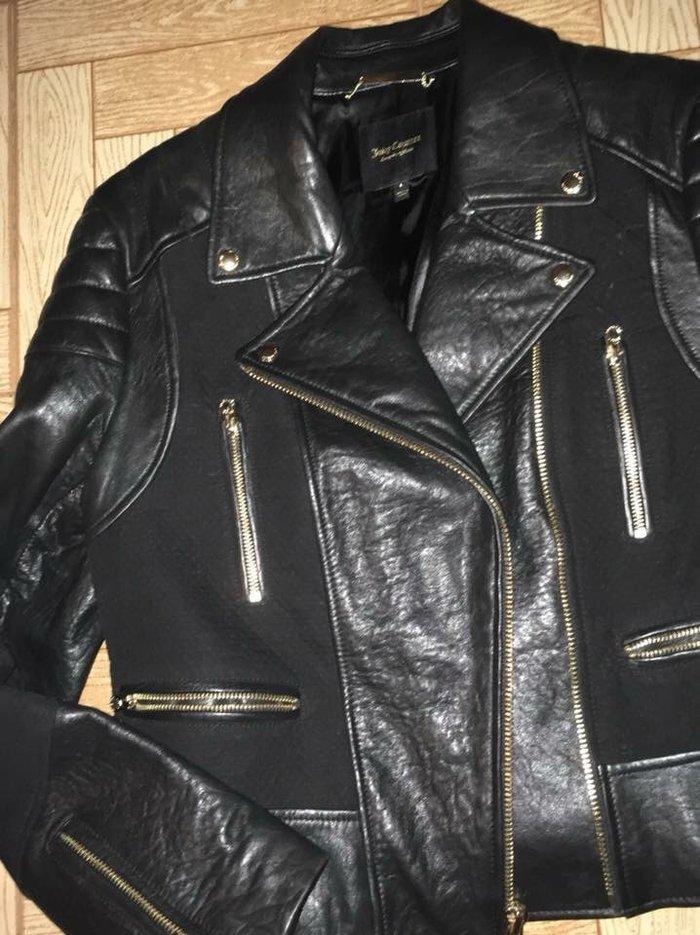 Δερματινο μπουφαν Juicy couture size L μια φορα φορεμενο.  σε Παιανία