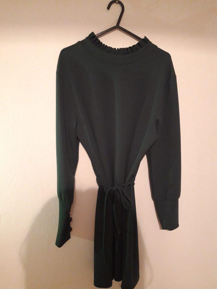Φόρεμα σκούρο πράσινο S αφορετο σε Περιφερειακή ενότητα Θεσσαλονίκης