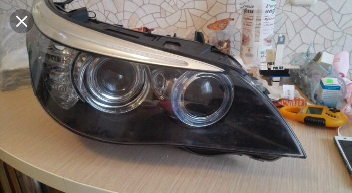 БМВ Е60 Фары( рест , дорест, галоген, ксенон, умные фары). Photo 8