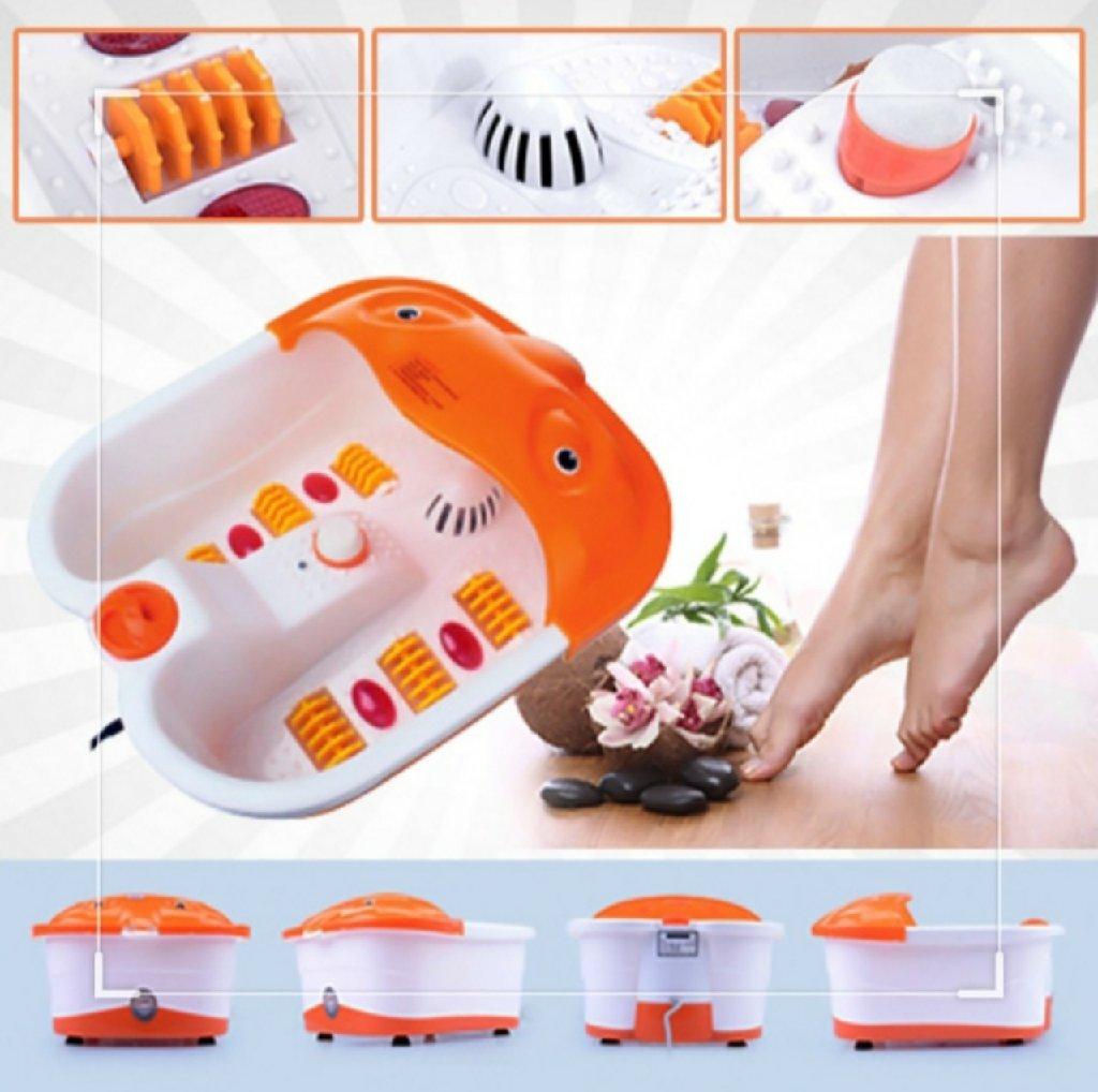 Гидромассажная ванночка для ног – это многофункциональное устройство, которое и согреет ноги,удалит омертвевшую кожу, и выполнитполноценный массаж ступней