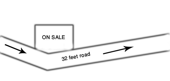Commercial land having area 0-4-0-0, facing west-south of 32 feet in Kathmandu