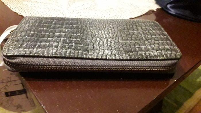 Potuno nov Ps novčanik sive boje. Photo 1
