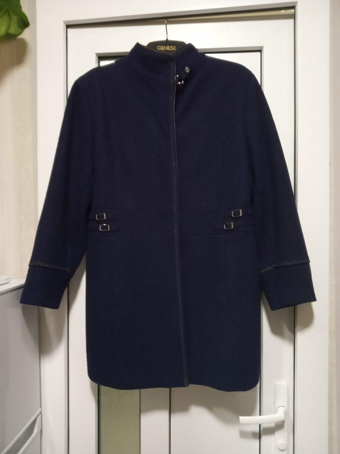Demisizoniy palti astarli tund göy renq 46-48 razmer firmadi. Photo 1