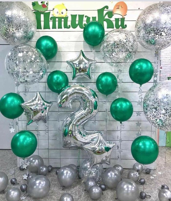 Белоснежные шары на свадьбу!. Photo 6
