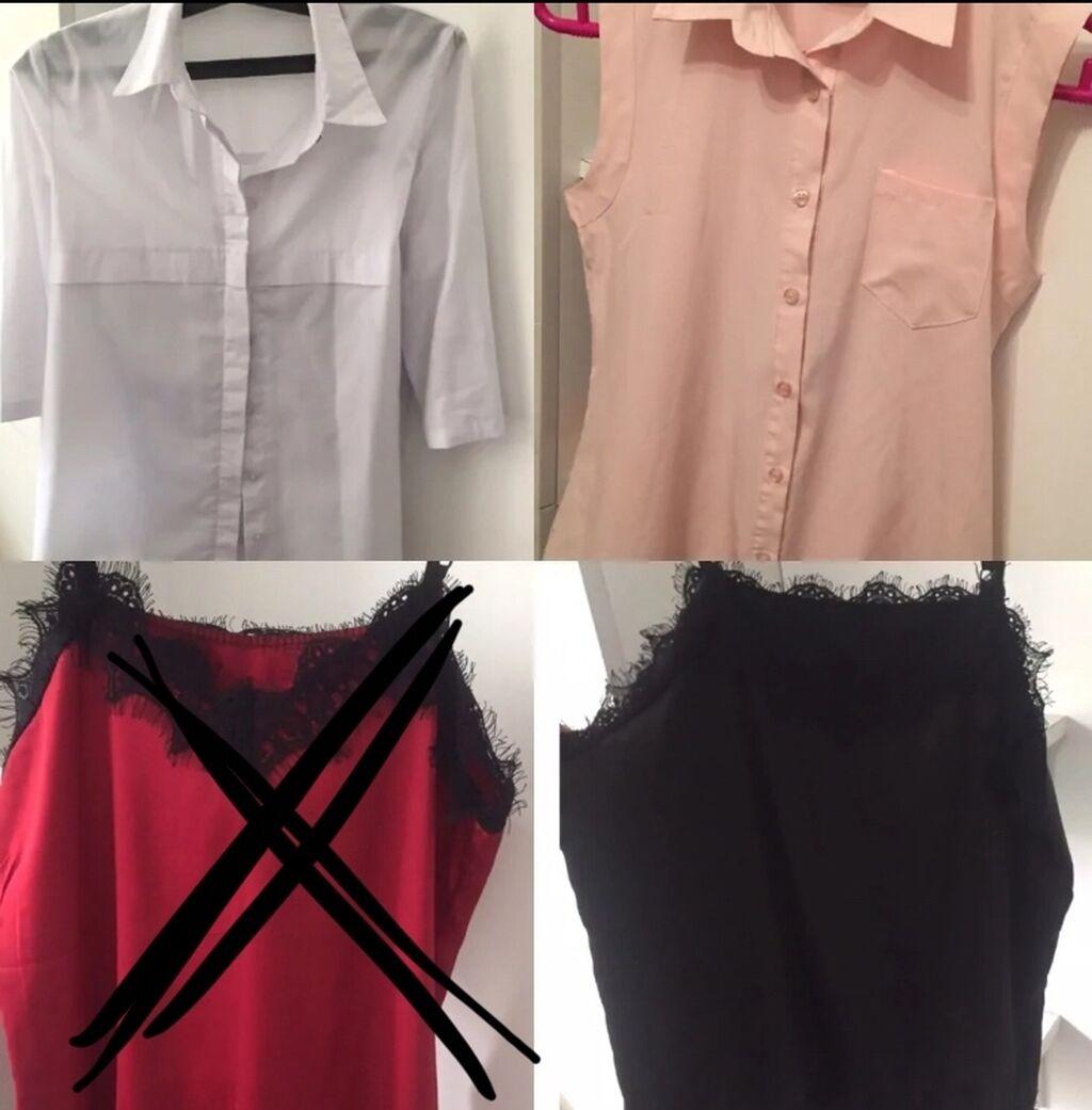 Топы новые и блузки б/у: Топы новые и блузки б/у
