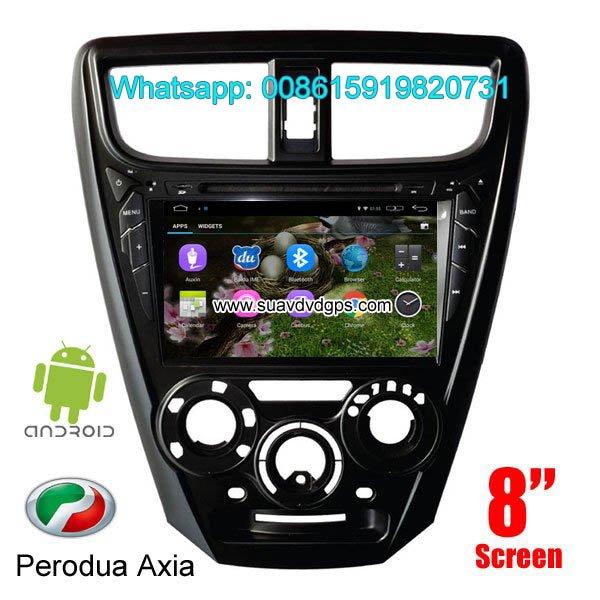 Perodua Axia Android Car Radio WIFI DVD GPS navigation camera in Kathmandu