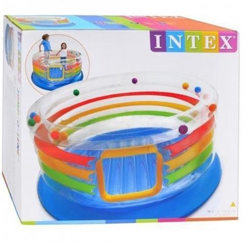 Bakı şəhərində Intex Jump-O-Lene Transparent Ring Bounce — отличный