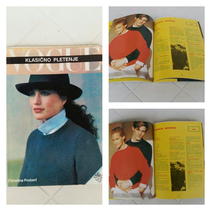 Vogue-praktican časopis za pletenje