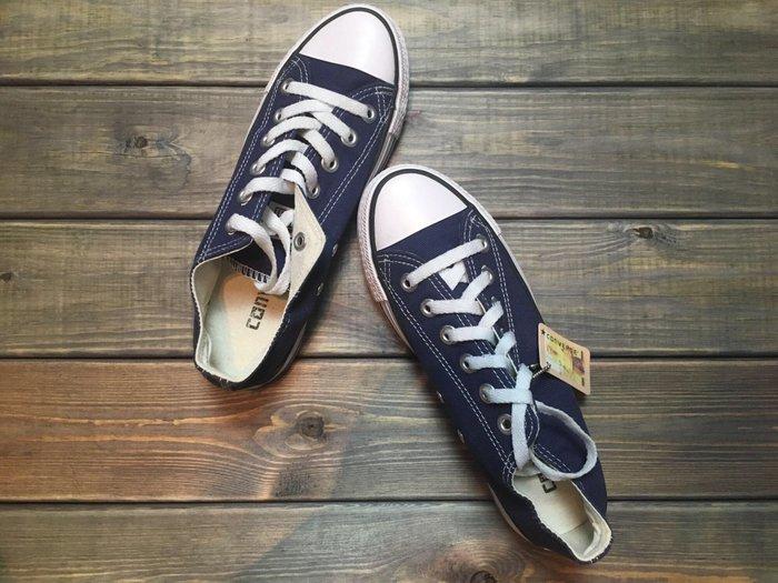 Совершенно новые синие кеды converse! 37. Photo 0