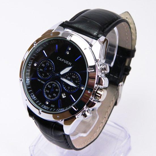 Стильные Мужские часы Cafuer.. Photo 1