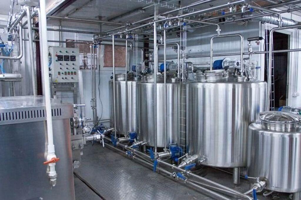 Продаётся новое оборудование-линия для производства крема на растительных маслах (кондитерские сливки для взбивания) и мягкого мороженого