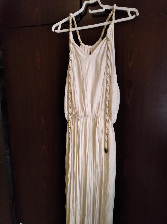 BSB Φόρεμα άσπρο μακρύ αρχαιοελληνικό στυλ no 40